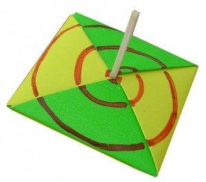 toupie origami maison